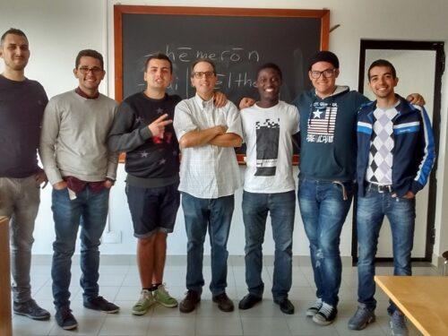 Una foto dei miei studenti di Greco 1 della Facoltà avventista di teologia