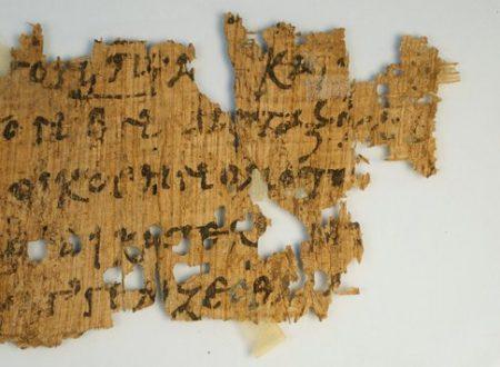 Il papiro di un brano del Nuovo Testamento scoperto in vendita su eBay