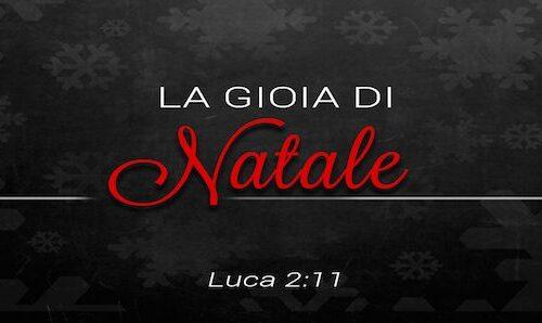 La gioia di Natale