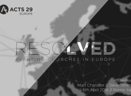 Mark Dever sulla guida del Signore in italiano e il convegno Resolved