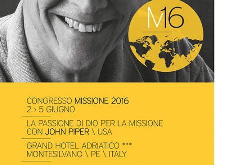 John Piper, Congresso Missione 2016 2-5 giugno