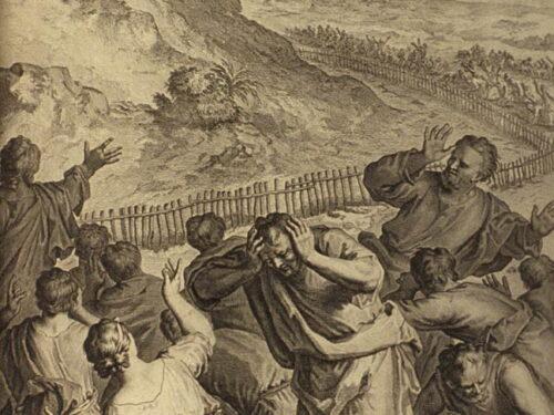 Monte Sinai, l'Antico Patto Ebrei 12:18-21