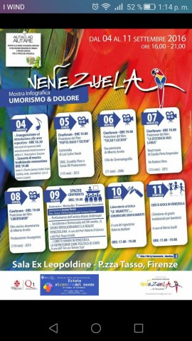 venezuela locandina