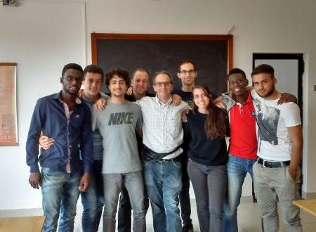 I miei studenti e la mia studentessa del I anno della Facoltà avventista di teologia 16-17