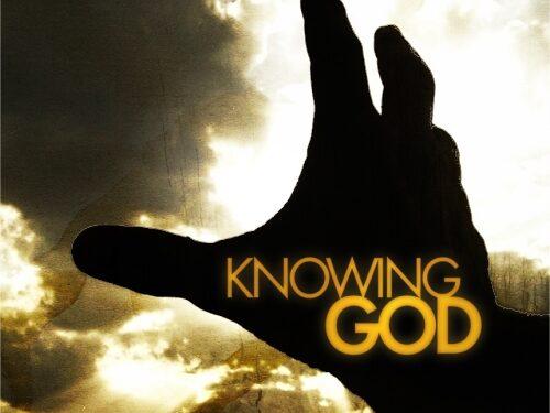 1. La conoscenza di Dio (Imparare a pregare da Paolo)
