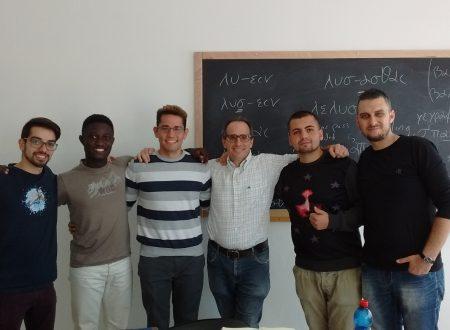 I miei studenti del II anno della Facoltà avventista di teologia 16-17