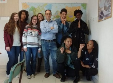 Ecco le mie studentesse e i miei studenti di lingua italiana 11.16