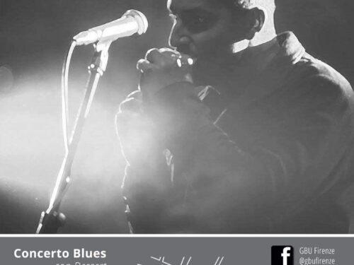 Invito a un concerto Blues nei pressi del Duomo di Firenze