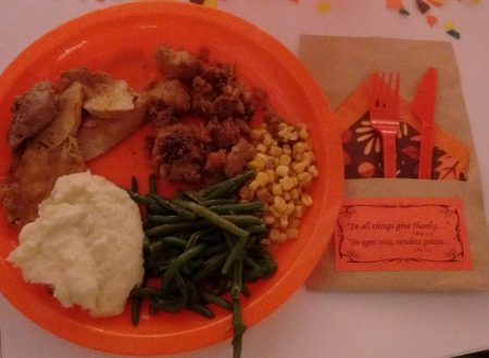 Thanksgiving Dinner with My Students