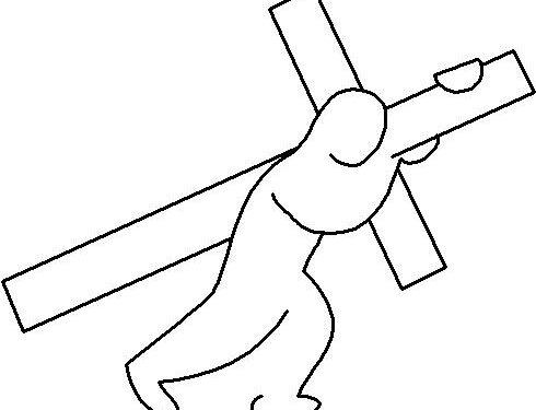 Cristo è il nostro modello per il prendere la nostra croce