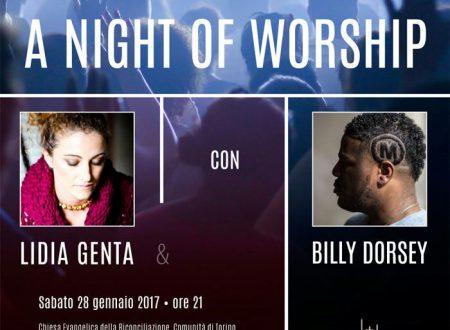 Sabato 28 gennaio Lidia Genta e Billy Dorsey in concerto per la traduzione della Bibbia