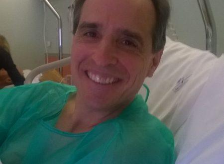 Grazie per le vostre preghiere per la mia colecistectomia!