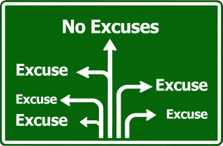 Excuses-Sign