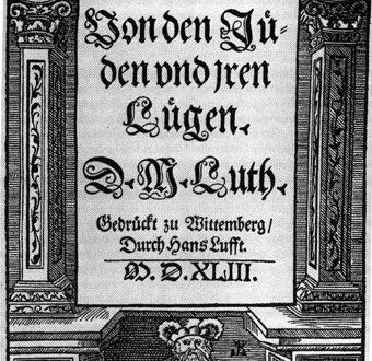 Lutero era un antisemita?