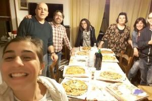 Una bella comunione fraterna con le famiglie Azzica e Derudas