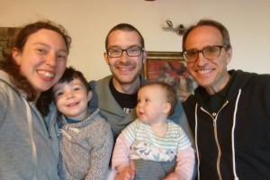 Una bella comunione fraterna con la famiglia Goodwin
