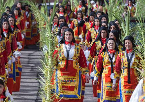 3. L'input dell'Ilaria per intercedere per l'Isola, Pasqua in Sardegna