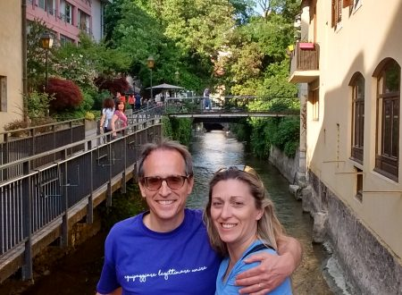 In visita ad Annecy, Francia