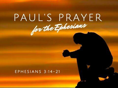 11. Pregare secondo la Lettera agli Efesini (Imparare a pregare da Paolo)
