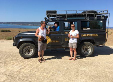 All'Asinara, Sardegna, con la migliore moglie e la migliore guida!