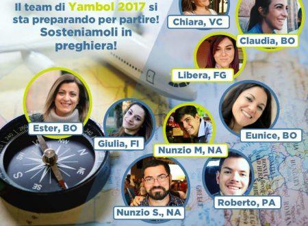 Pregate per il Team YFC per Yambol 2017 e sostenete Eunice e company!