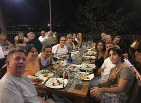 Una bella cena con le famiglie Lagomarsino e Ciavarella