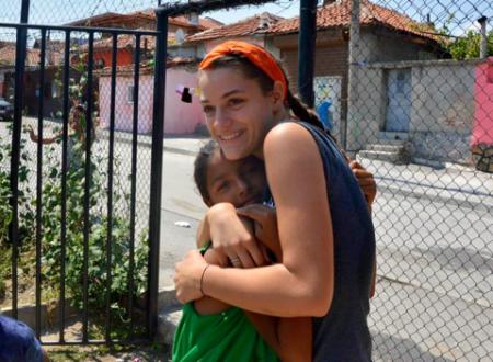 L'amore di Dio per i bambini, Giulia sul viaggio in Bulgaria
