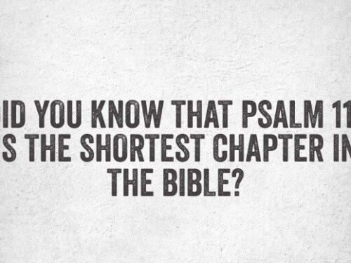 Il Salmo 117, il salmo più corto del Salterio