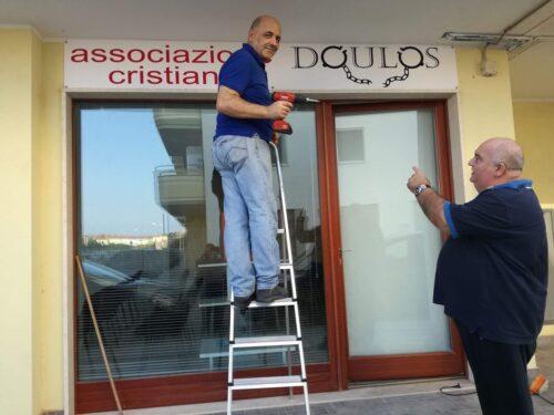"""Dio benedica la Chiesa """"Doulos"""" di Porto Torres nella sua nuova sala!"""