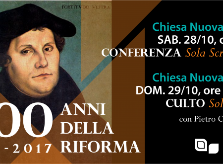 La lettura pubblica delle 95 tesi a Bologna Nuova Vita