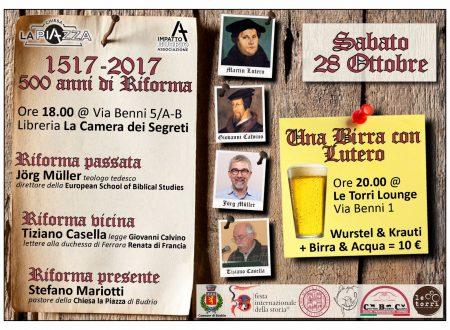"""Una birra """"wittenberghese"""" e tant'altro a Budrio (BO) sabato 28 ottobre!"""