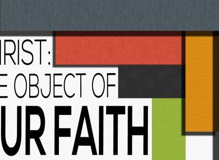 Cristo è l'oggetto eterno della fede, nel quale essa contempla tutte le ricchezze della misericordia divina