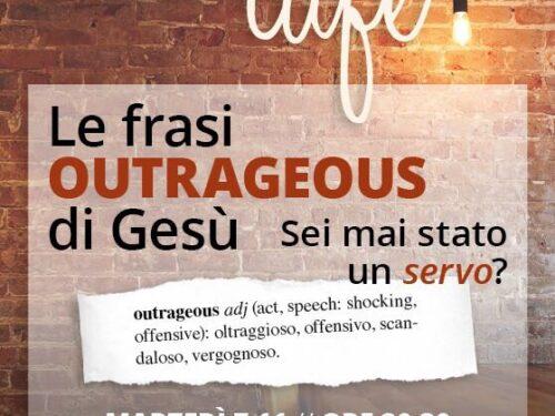 """Le frasi """"outrageous"""" di Gesù, studenti e studentesse sono invitati a questo incontro GBU"""