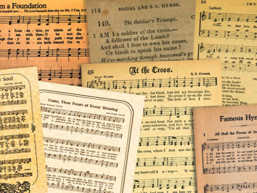 Thank you, Lord, for hymns!