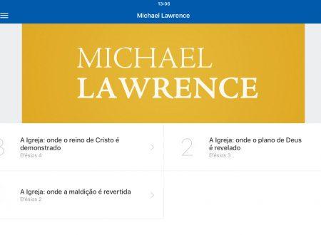 Michael Lawrence su Efesini 2-4 inglese e portoghese