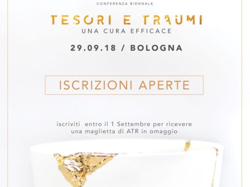 Conferenza Tesori e Traumi, una cura efficace. Bologna 29.9.18