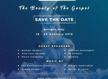 SAVE THE DATE! The Beauty of the Gospel, Reflection ven-dom 18-20 gennaio 2019