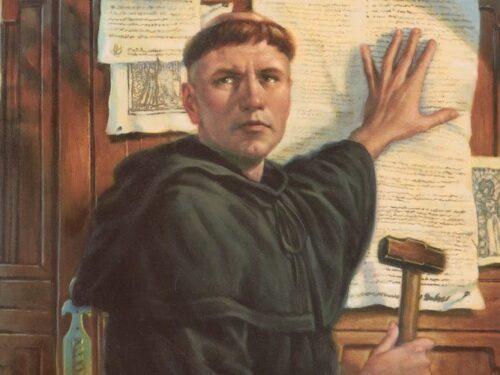 La conversione di Martin Lutero