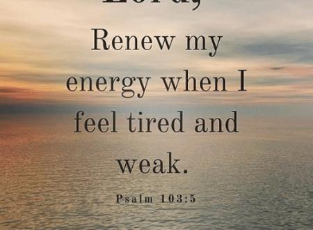 Ti senti spiritualmente debole? Ecco qualche versetto per aiutarti