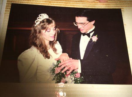 30 anni di matrimonio con la Silvia. Grazie, Signore, per una moglie così straordinaria!