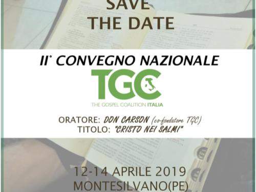 12-14 aprile Don Carson-Cristo nei Salmi-Convegno annuale TGC Italia