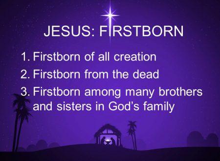 Il primato di Cristo nella redenzione