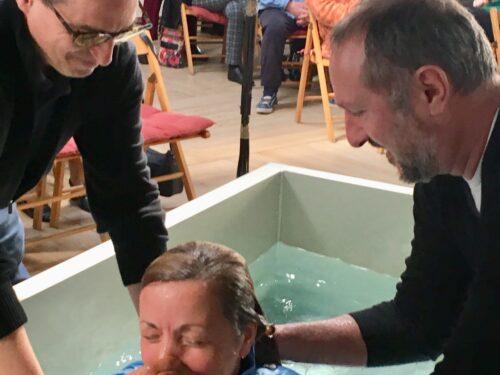 Il primo battesimo della Chiesa Evangelica Riformata l'Isolotto, Octavia