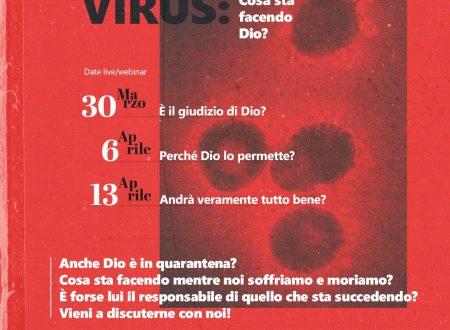 Coronavirus: Cosa sta facendo Dio? Webinar di Francesco Schiano, Chiesa Neapolis