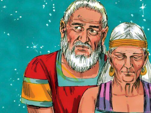 Che cosa c'entri tu con il patriarca Abraamo?